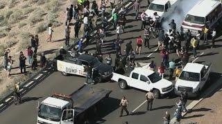 Violentas protestas contra Trump
