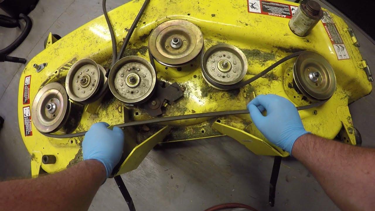 John Deere D170 Mower Deck Maintenance Tips
