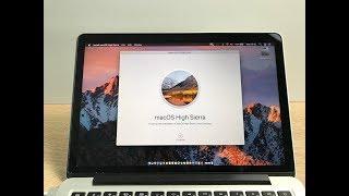 New macOS High Sierra Install