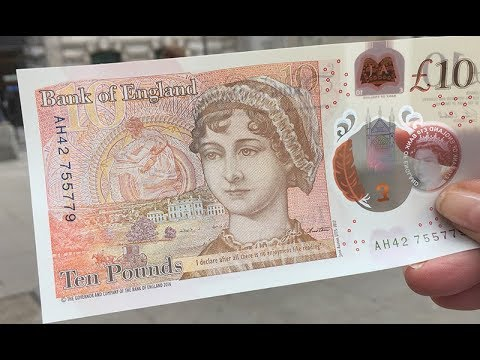 First look at the new £10 note
