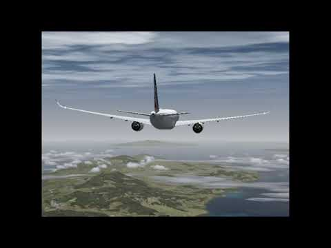 [FSX] Martinique TFFF to Guadeloupe TFFR A350 Air France