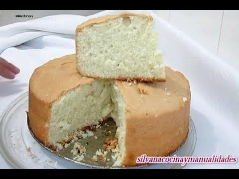 BIZCOCHO BASICO PARA TORTAS/SIN POLVOS DE HORNEAR/ Silvana Cocina ❤