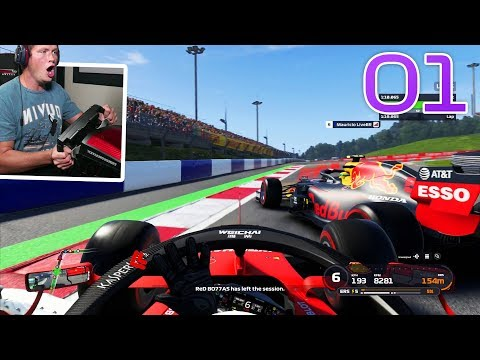 F1 2019 Online - Part 1 - THIS IS CHAOS!