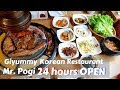 Giyummy Korean Restaurant Mr Pogi - 24 Hours Open - Unlimited Korean BBq (Samgyupsal)