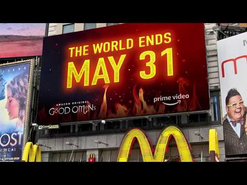 News: Amazon Prime Takes Over Times Square with Augmented Reality Apocalypse