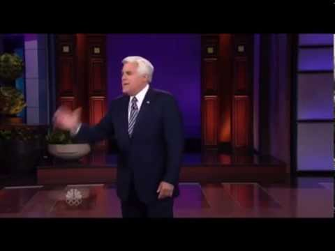 Jay Leno with special musical guest Kevin Eubanks