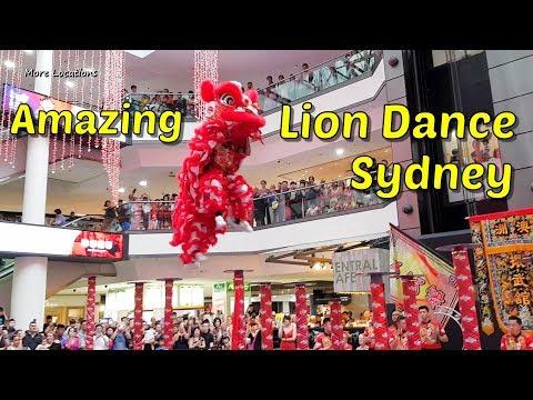 Sydney Lion Dance - Lunar New Year 2019 Sydney