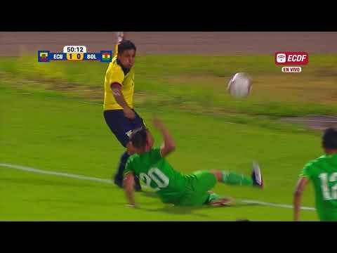 Resumen: Ecuador 3 Bolivia 0 - Amistoso Internacional