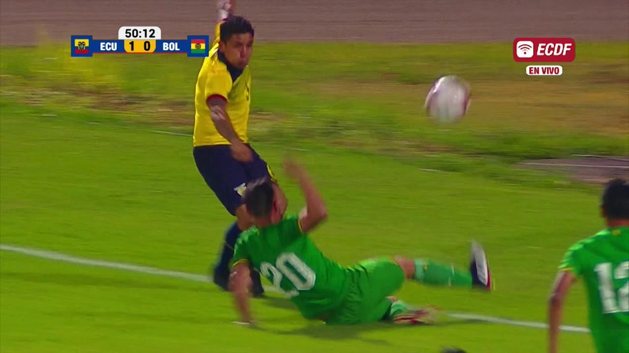 Эквадор - Боливия 3:0 видео