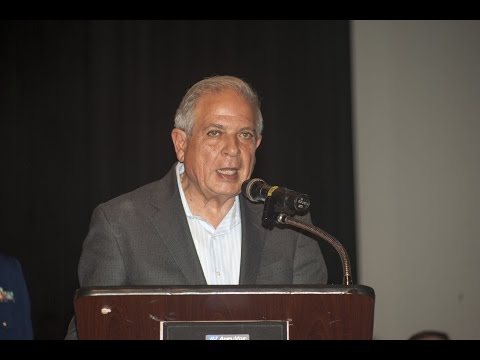 Honorable Tomas Regalado - Armed Forces Day