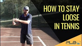 Tennis Tip: How To Stay Loose in Tennis + Exercise I JM Tennis - Online Tennis Training Programs