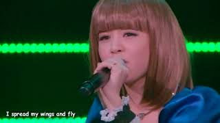 Haruna Luna singing Overfly LIVE I do not own this video.
