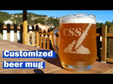 🍺 Engraved Beer Mug 🍺 Personalized Beer Mugs At Home
