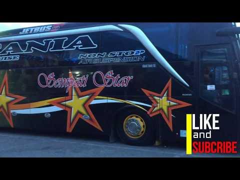Woow...!!!Ceper Nya Bus Sempati Star.