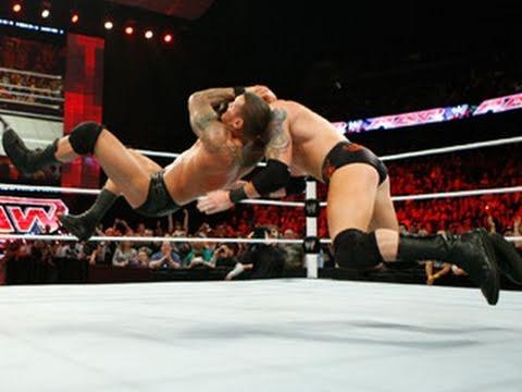 Raw: Randy Orton vs. Wade Barrett - WWE Championship Match