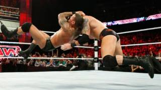Raw: Randy Orton vs. Wade Barrett - WWE Championship Match