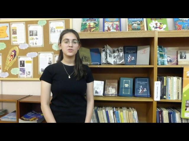 Изображение предпросмотра прочтения – ЕлизаветаДавыдова читает произведение «О, слезы на глазах!...» М.И.Цветаевой