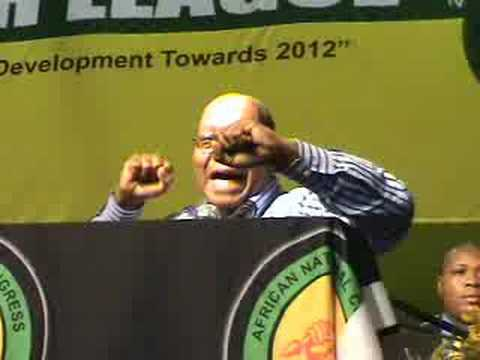 Jacob Zuma sings Umshini Wam