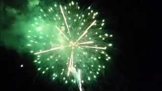 Set The Night To Music 2014 - Fireworks Display!