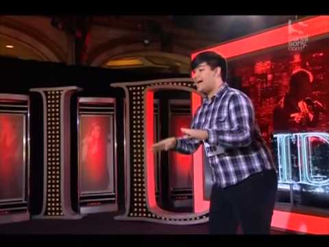 ADAM SANDERS-AUDITION A IDOL STANDING OVATION