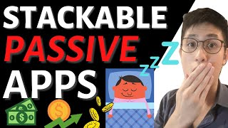Earn PayPal Money by Doing NOTHING! - STACKABLE Passive Income Apps (Works Worldwide!)