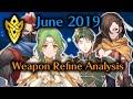 Fire Emblem Heroes - June Weapon Refine Analysis: Kagero, Saizo, Elincia and Oscar
