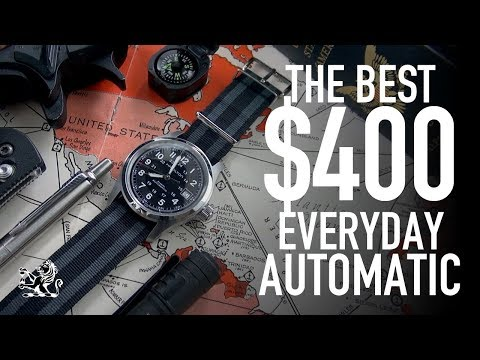 The BEST $400 Automatic Everyday Watch: Hamilton H70455733 Review