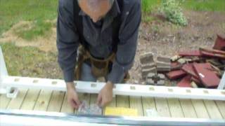 Diy Vinyl Deck Rail - Part 3