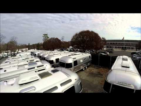 How to Climb onto the Roof of an Airstream Travel Trailer Solar Maintenance Seal Leaks
