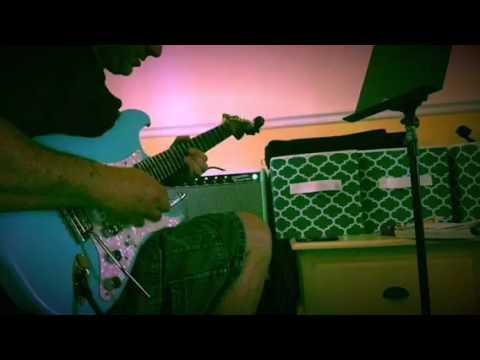 Kirn Strat W/ D. Allen Strat Cat pickups- Boomerang 3 Looper- Beat Buddy Drum Pedal