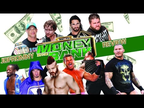 WWE Money In The Bank 2015 6/14/15 Review & Results