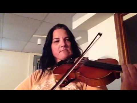 Day 186 - Old French - Patti Kusturok's 365 Days of Fiddle Tunes