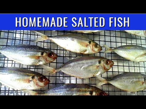 How To Make Tuyo | Easy Salted Dried Fish Making | PinoyAtHeartAdventures