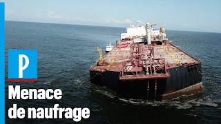 Un pétrolier contenant 1,3 million de barils menace de chavirer