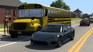 Impatient Driver Crashes | BeamNG.drive