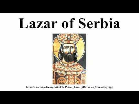Lazar of Serbia