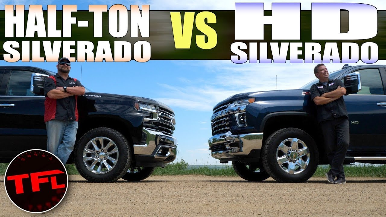 Chevy Silverado 1500 vs 2500 HD Duramax Diesel: One Of These Is Just Right for You!