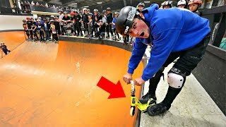 WORLD'S SMALLEST SCOOTER DROP IN🤯🔥‼️