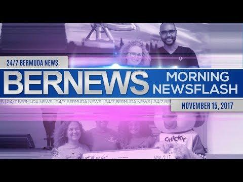 Bernews Morning Newsflash For Wednesday November 15, 2017
