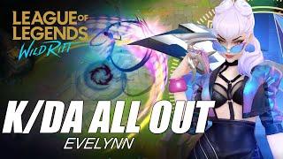 K/DA All Out Evelynn Skin Spotlight - WILD RIFT