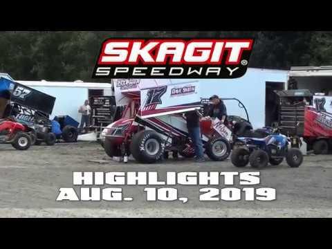 Skagit Speedway Highlights 08 10 2019
