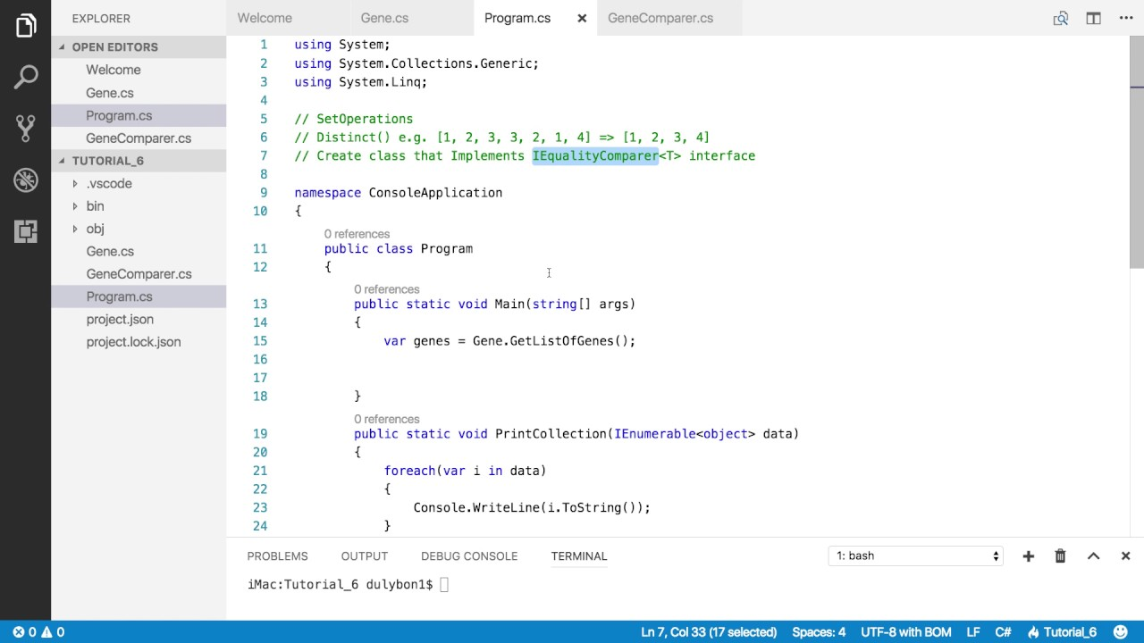 C# Linq Queries: Distinct() on Collection of Custom Objects - Part 2