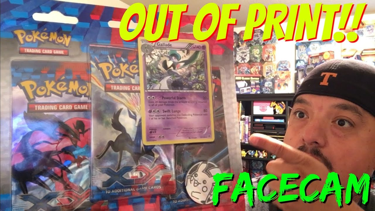 pokemon cards out of print x y blister pack opening falcons