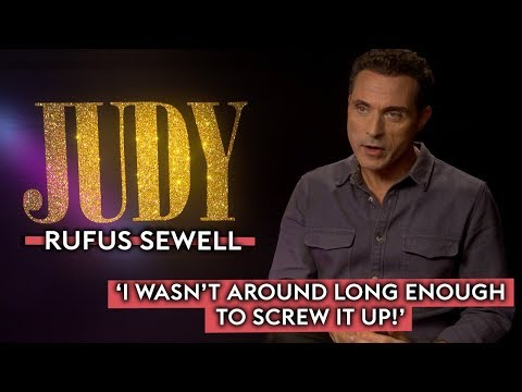 Rufus Sewell on researching for his role in Judy and working with Renee Zellweger