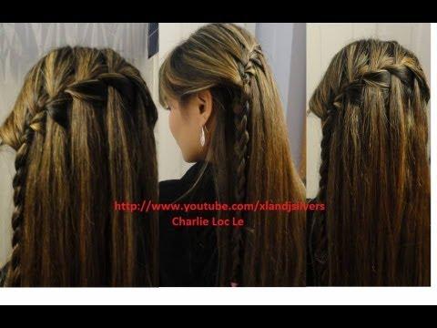 Hướng dẫn tóc: cách tết tóc thác nước