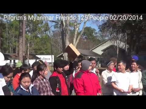 Pilgrim's Myanmar Friends 2014