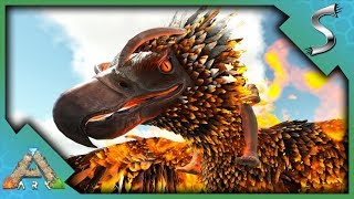 ARK PHOENIX TAMING! HOW TO FIND AND TAME! WHAT CAN IT DO AND IS IT WORTH IT? - Ark: Scorched Earth