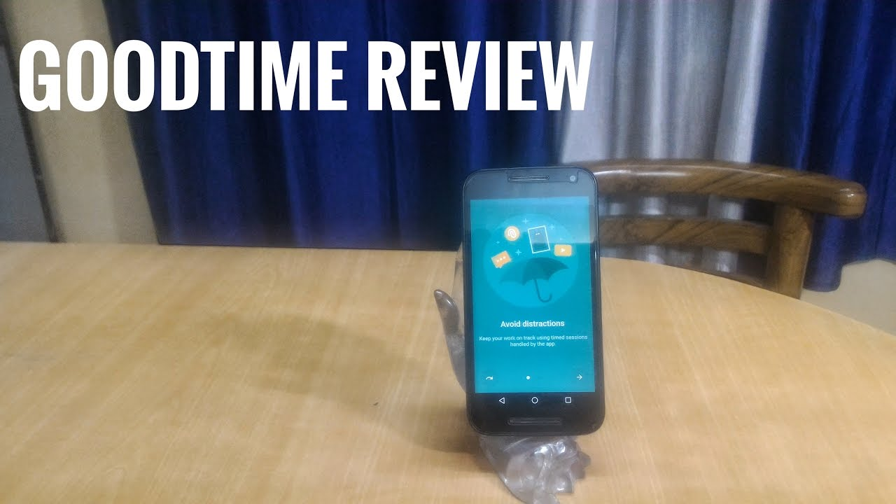Android App Recommendation #1: Goodtime Productivity Timer-Improve Your  Productivity At Work!