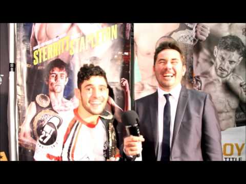 Rany Saadeh Interview Post Fight at BAMMA 23