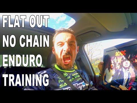 NO CHAIN MTB Enduro Training SECRET TRAIL Vallnord - CG VLOG #42